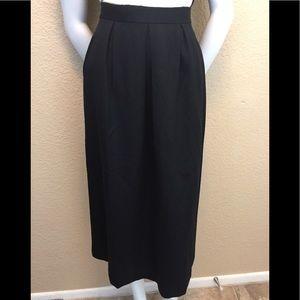 Vintage Long Lined Aline Pocket Midi Skirt